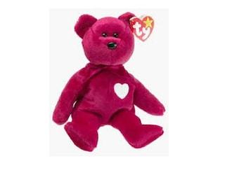 Ty Beanie Babies Valentina Rare Bear 1998