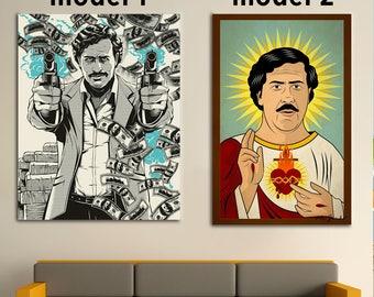 Pablo Escobar, Pablo Escobar Canvas,Pablo Escobar Art, Pablo Escobar Print, Pablo Escobar Photo , Pablo Escobar Poster, Pablo Escobar Decor