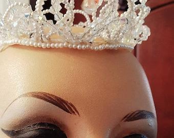 Vintage crystal Crown