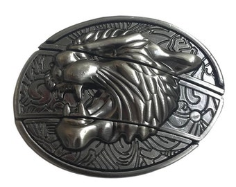 Couger Belt Buckle with Removable Craft Knife