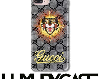 Gucci Case, iPhone 8 Plus Case, Gucci Cat, iPhone 7 Plus case, Gucci iPhone Case, iPhone 7 case, iPhone 8 Case, iPhone 6S Case, 303