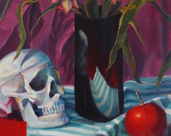 Still Life no. 1 - Oil Painting on canvas