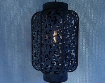 Rustic Ornate Pendant Light