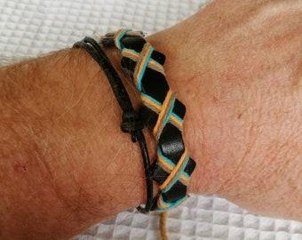 2 for 1 price, Unisex Bracelets, Men's and Women's jewelry, Gift For Him or Her, Adjustable Bracelet, Bracelet For Men or Women, N-001