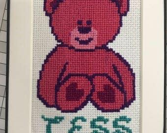 Baby Bear Cross Stitch