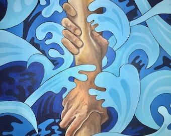 Sovereign Hand (Oceans Deep) (16x20)