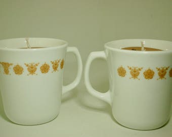 Amber Noir + Butterfly Gold Soy Candle