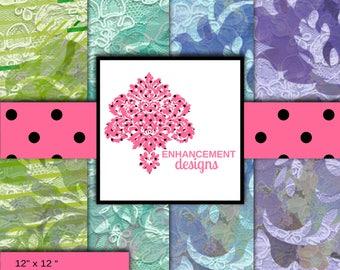 Scrapbook Grunge Damask Pack 2 Paper, Digital Paper, (Style), (#) colors/variations, Instant Download