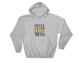 Weave Hooded Sweatshirt