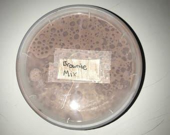 Brownie mix slime