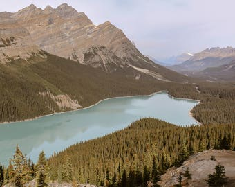Peyto Lake, Canadian Rockies - Digital Print