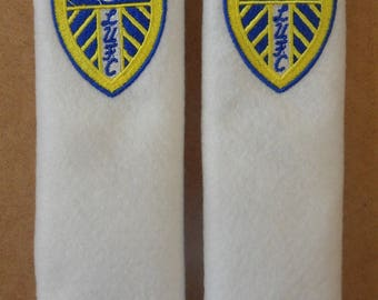 Leeds United Seat Belt Pads (1 pair) Pillow Cushion