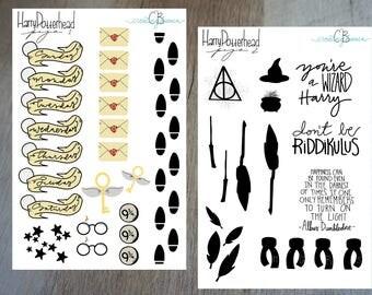 Harry Potterhead Digital Stickers
