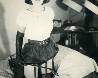 Vintage Dominatrix Photograph