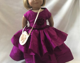 American Girl Doll Dress and Purse Combo