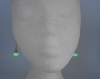 Glow in the dark Small Globe Earrings