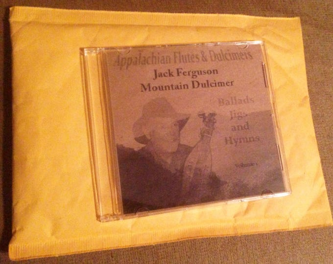 Appalachian Flutes and Dulcimers - Music CD