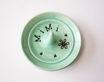 Mimi ring dish - Gift for Mimi - Keepsake Ring Dish - Ready to Ship,  Gift box included