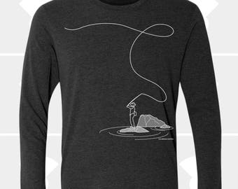 Fly Fishing - Unisex Long Sleeve Shirt