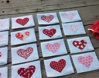 Valentines Heart Matching/Memory Game for Toddlers RTS