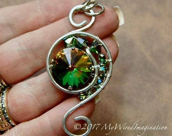 Eye of the Hurricane, Wire Wrap Pendant Tutorial, NEW Tutorial Release, Wire Wrap Tutorial, DIY Pendant, Step by Step Wire Pendant Tutorial