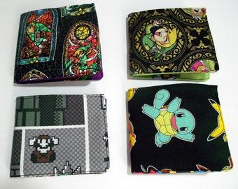 SciFi Series Billfold, Wallet, Men's Wallet, Fabric Wallet, Nerd Wallet, Geek Wallet