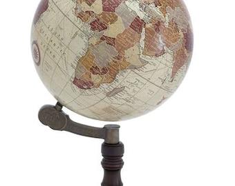 Wooden Sea Globe