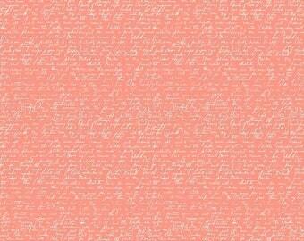 ON SALE Ava Rose By Deena Rutter Script Coral