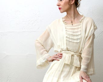 SALE Edwardian Cotton Dress