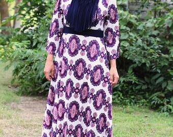 LillyAnnaLadies ROXY Fringe Dress LALA Modest