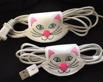 Set of 2 Kitty cable holders - Small and Large