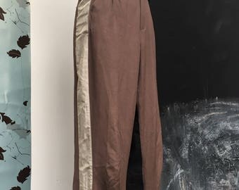 omg Trompe loeil a.f. vandevorst pants open crotch upcycled