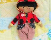 "Junie - 10"" Handmade Doll"