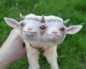 Kalona, Baby Demon Goat - OOAK Art Doll