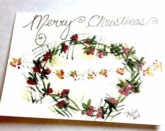 Greeting Card - Blank Watercolor Card