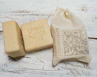 Oatmeal Soap - Unscented Moisturizing Soap, Sensitive Skin Soap, Dry Skin Soap, Vegan Skincare, All Natural Fragrance Free Oatmeal Soap