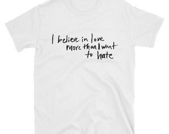 Standard Believe In Love Short-Sleeve T-Shirt