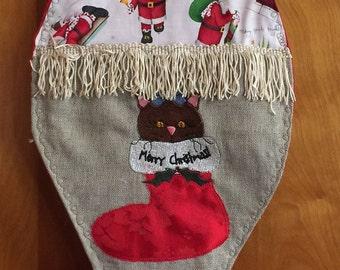 Christmas Stocking: Kitty Stocking for Kitty