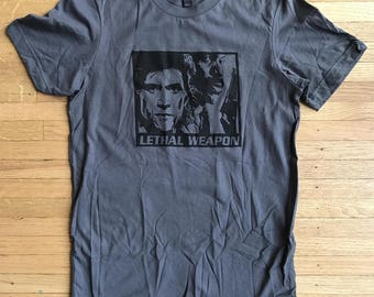 Lethal Weapon Shirt / Mel Gibson t shirt/ funny t shirts for men / good gifts for guys / best birthday gifts for men / cool gifts for men