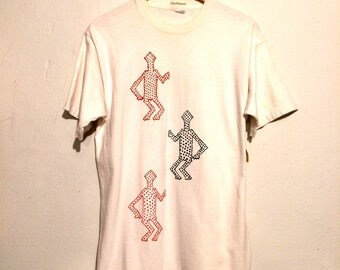 Dancing Drawings Tee Shirt large te46209