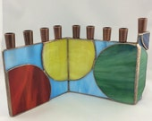 Stained Glass Chanukah Me...