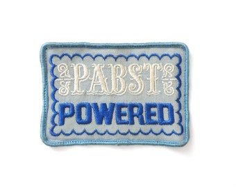 Past Powered Patch Vintage 1970s