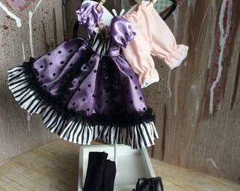 Blythe complete outfit original Takara Tomy Can Can Cat outfit stock