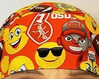 OSU Skull Cap, Chemo Cap, Football, Surgical Cap, Sports, Hats, College, Helmet Liner, Motorcycle, Oregon State University, Do Rag, Wrap