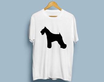Miniature Schnauzer (with cropped ears) - Digital Download, Miniature Schnauzer Art, Dog Silhouette, Dog Decor, SVG, JPG, PDF