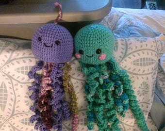 Crochet Jellyfish jellies READY TO SHIP