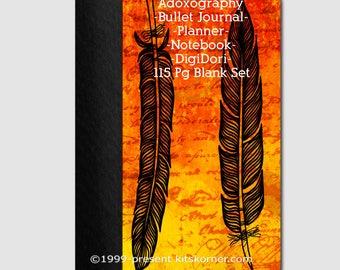 Adoxography - Grid - Digital Bullet Journal - Planner -Notebook - DigiDori