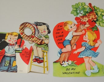 1950s Two Valentines