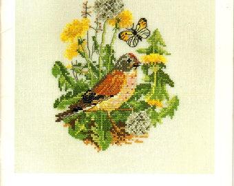 PERMIN KALENDER CALENDAR Permin of Copenhagen Journal, Diary, Log Danish Art Needlework