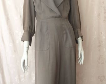 WW11 Era Gaberdine Dress